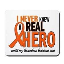 Never Knew A Hero 2 ORANGE (Grandma) Mousepad