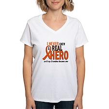 Never Knew A Hero 2 ORANGE (Grandma) Shirt