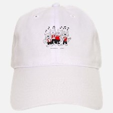 Chorus Singing Cats Baseball Baseball Cap