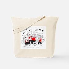 Chorus Singing Cats Tote Bag