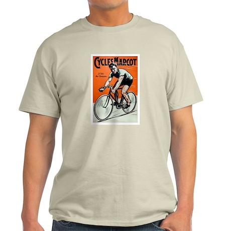 Vintage Bicycle Girl Light T-Shirt