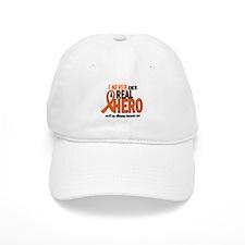 Never Knew A Hero 2 ORANGE (Mommy) Baseball Cap