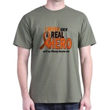 Never Knew A Hero 2 ORANGE (Mommy) T-Shirt