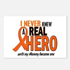 Never Knew A Hero 2 ORANGE (Mommy) Postcards (Pack
