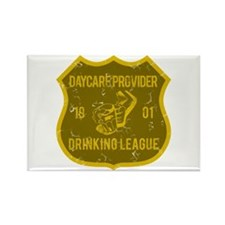 Daycare Provider Drinking League Rectangle Magnet