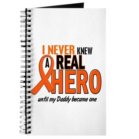Never Knew A Hero 2 ORANGE (Daddy) Journal
