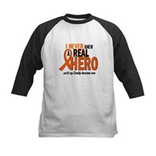 Never Knew A Hero 2 ORANGE (Daddy) Tee
