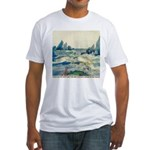 Jessie M. King The Fisherman Fitted T-Shirt