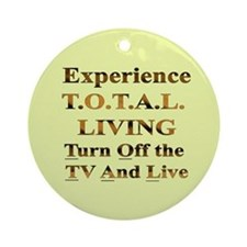 TOTAL Living Ornament (Round)