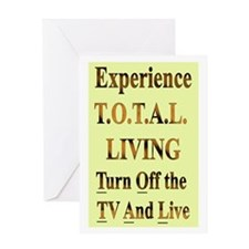 TOTAL Living Greeting Card