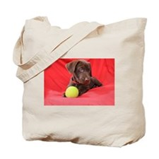 Chocolate Puppy #2 Tote Bag