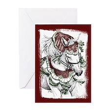 Holiday Horse Greeting Card