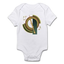 English Horn Deco Infant Bodysuit