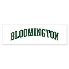 Bloomington (green) Bumper Sticker (50 pk)