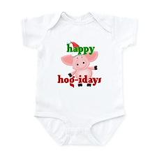 happy hog-idays Onesie