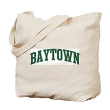 Baytown (green) Tote Bag