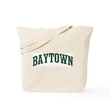 Baytown (green) Tote Bag