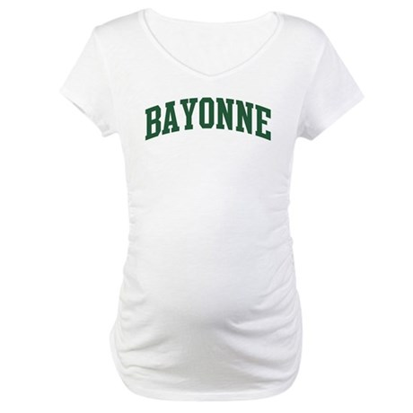 Bayonne (green) Maternity T-Shirt