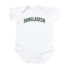 Bangladesh (green) Infant Bodysuit