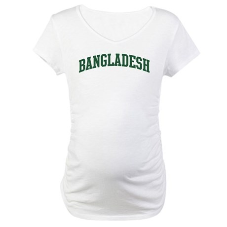 Bangladesh (green) Maternity T-Shirt
