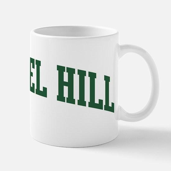 Chapel Hill (green) Mug