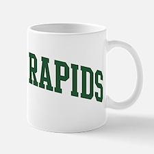 Cedar Rapids (green) Mug