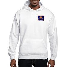 Golden Glow Hoodie Sweatshirt
