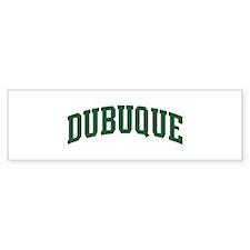 Dubuque (green) Bumper Sticker (50 pk)