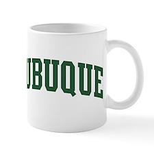 Dubuque (green) Mug