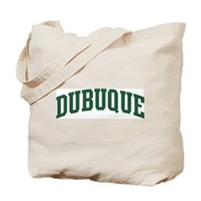 Dubuque (green) Tote Bag