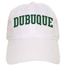 Dubuque (green) Baseball Cap