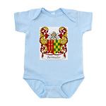 Bermudes Family Crest Infant Creeper
