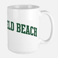 Deerfield Beach (green) Mug