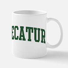Decatur (green) Mug