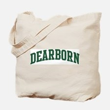 Dearborn (green) Tote Bag