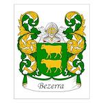Bezerra Family Crest Small Poster