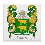 Bezerra Family Crest Tile Coaster