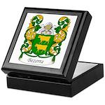 Bezerra Family Crest Keepsake Box