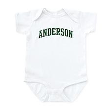 Anderson (green) Infant Bodysuit