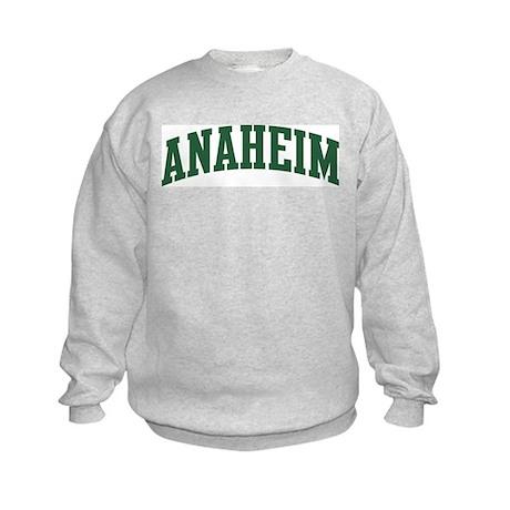 Anaheim (green) Kids Sweatshirt