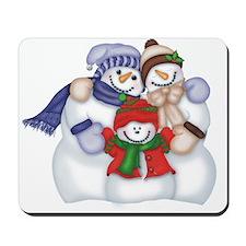SNOWMAN FAMILY - Mousepad