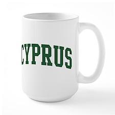 Cyprus (green) Mug