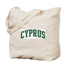 Cyprus (green) Tote Bag