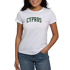 Cyprus (green) Tee