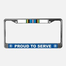 Expeditionary License Plate Frame