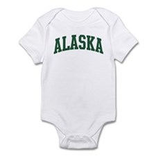 Alaska (green) Infant Bodysuit