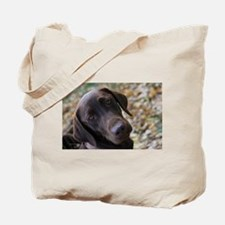 Chocolate Lab C Tote Bag