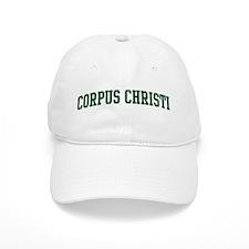 Corpus Christi (green) Baseball Cap