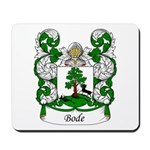 Bode Family Crest Mousepad