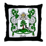 Bode Family Crest Throw Pillow